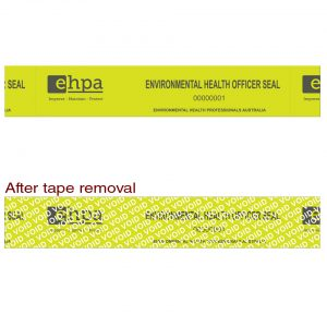 ehpa Evidence Tape